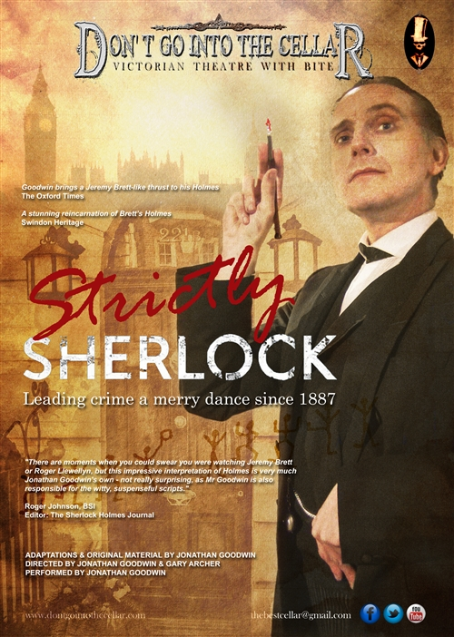 Strictly Sherlock Victorian Theatre Event Tuesday 6th July 2021