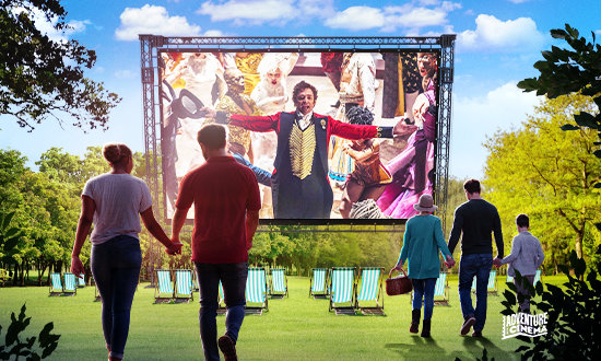 Outdoor cinema event – The Greatest Showman Sing a Long Friday 4th June 2021